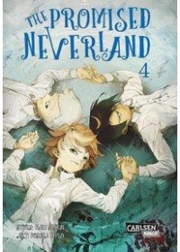 Obálka knihy  The Promised Neverland 4 od , ISBN:  9783551739179