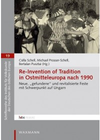Obálka knihy  Re-Invention of Tradition in Ostmitteleuropa nach 1990 od , ISBN:  9783830938439